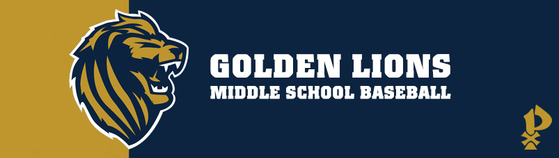 Golden Lions Middle School Baseball