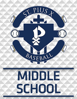 St. Pius X Middle School Baseball